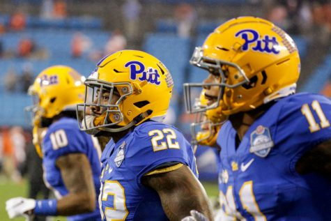 Of the 21 commits, nine chose to enroll early at Pitt and are already here on campus, taking classes and working out with the football team.