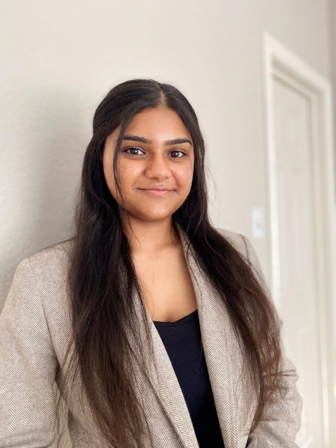 Harshitha Ramanan is a sophomore neuroscience major running for president.