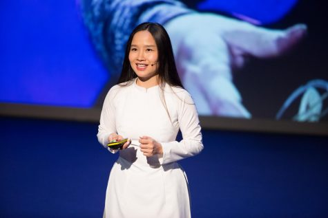 Mai Khoi is a Vietnamese pop star turned activist who has spoken out against censorship in Vietnam, attempted to run for a seat in Vietnam's National Assembly and campaigned for Facebook to step in and stop the activities of pro-government censorship groups on the site.
