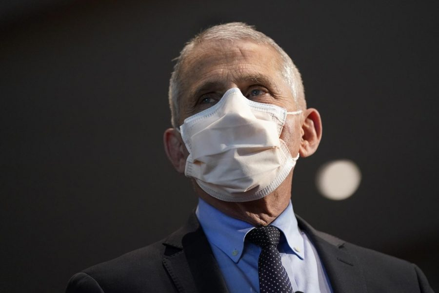 Dr. Anthony Fauci, director of the National Institute of Allergy and Infectious Diseases.(Patrick Semansky/Pool/Getty Images/TNS)