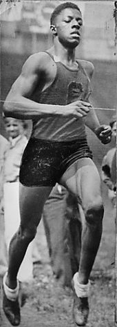 John Woodruff from Connellsville won a Gold Medal in the 1936 Olympics held in Berlin, Germany.