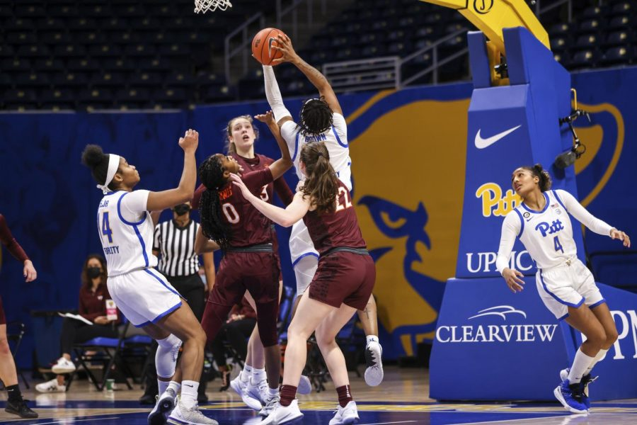 The Pitt women's basketball team lost 74-55 to the Virginia Tech Hokies Thursday night at the Petersen Events Center, now falling to 2-5 in the ACC and 4-6 overall.