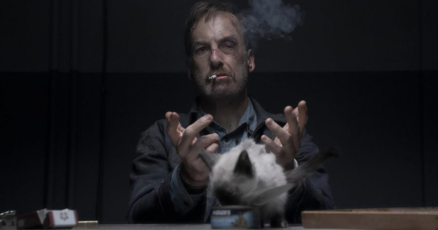 """Bob Odenkirk's new movie, """"Nobody,"""" opens in theaters Friday."""