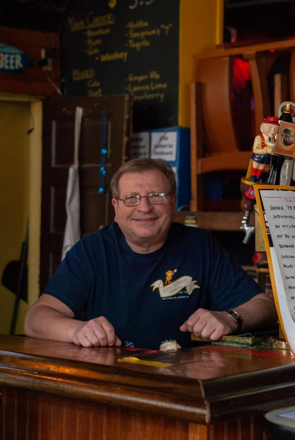 Gene Ney runs Gene's Place — a bar located on Louisa Place. Ney has only sold takeout cocktails, drafts and other specials for the past few months, but on April 4, he plans to open the bar again at a limited capacity.
