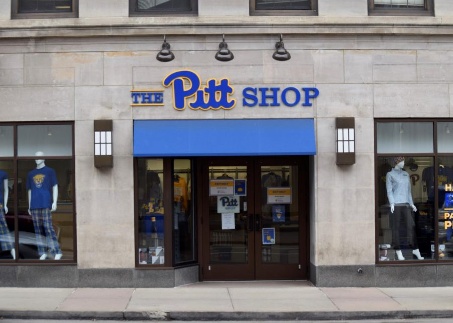 The Pitt Shop on Forbes Avenue is one of the stores participating in Shop2Help Oakland, a program created by the Oakland Business Improvement District to help businesses during the COVID-19 pandemic.