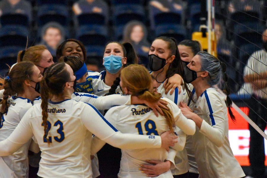 "The No. 19 Pitt volleyball team managed to remain steady during a dominant 3-0 sweep of rival West Virginia. The Panthers have not played a ""Backyard Brawl"" against the Mountaineers since 2011, and won with scores of 25-8, 25-12 and 25-15, respectively."