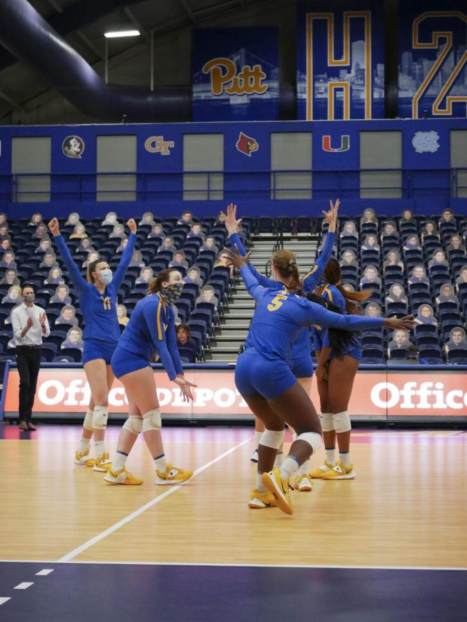 Pitt volleyball's historic NCAA tournament run came to an end on Monday afternoon, and it happened in possibly the most heartbreaking way imaginable.
