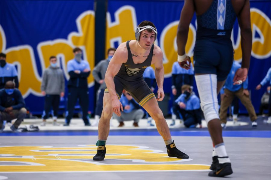 Two-time defending ACC champion Jake Wenzel (9-1) won 1-0 in his opening match against Drexel's Evan Barczak (6-3) on March 18. Wenzel was also Pitt's highest individual seed since Max Thomusseit (2 at 184) in 2015.