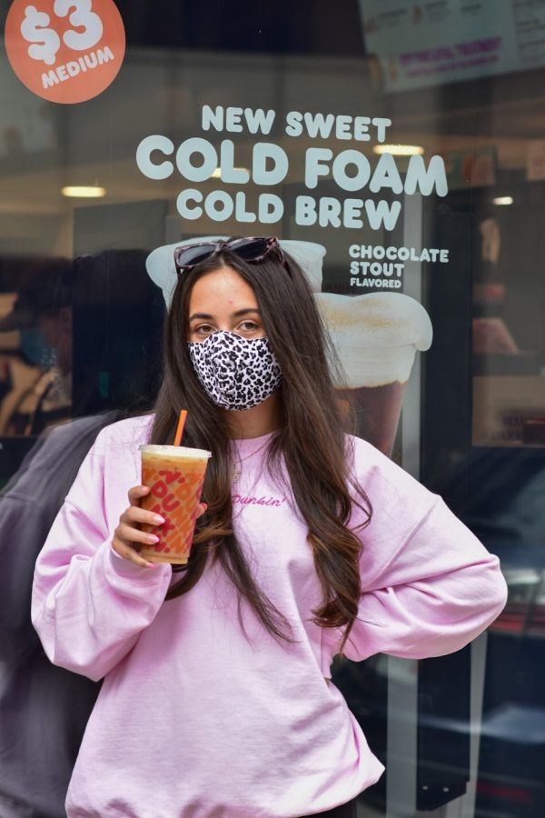 Sophia Cosentino, a Pitt 2020 alumna, won the Dunkin' menu contest on TikTok in early March and got her order named after her at her local Dunkin'.