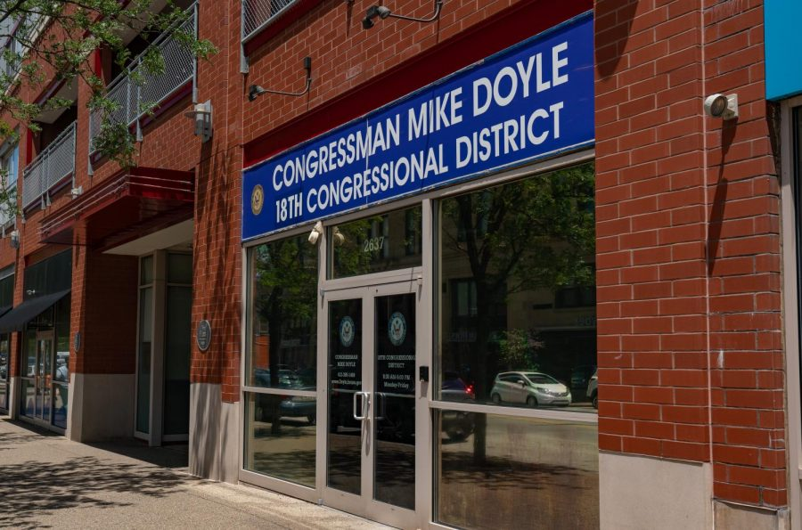 The Office of Rep. Mike Doyle, PA-18, at 2637 East Carson St. in Pittsburgh.