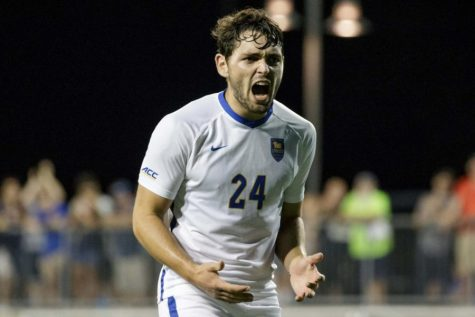 Coming off its third loss of the season, No. 2 Pitt men's soccer bounced back convincingly in the team's opening match of the NCAA tournament, defeating the Monmouth Hawks 6-1.