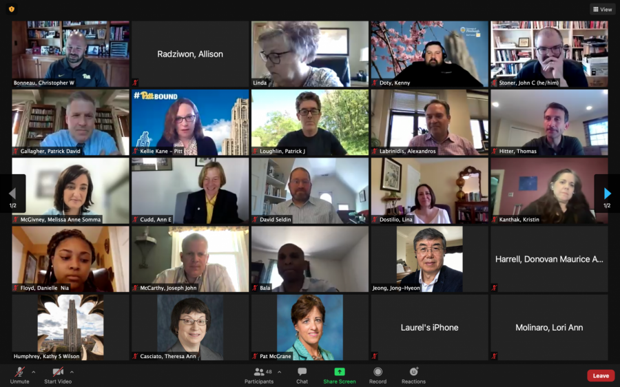 Senate Council held its monthly meeting last Thursday afternoon via Zoom, which was the final meeting of the 2020-21 academic year.