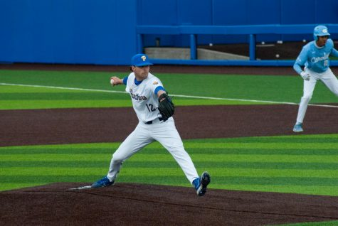 The Panthers were unable to capitalize on a phenomenal complete game performance from junior pitcher Matt Gilbertson, as the Panthers fell to NC State 3-2 — putting an end to their ACC Championship chase.