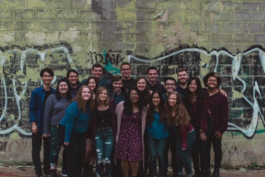 The Songburghs, a co-ed a cappella group at Pitt.