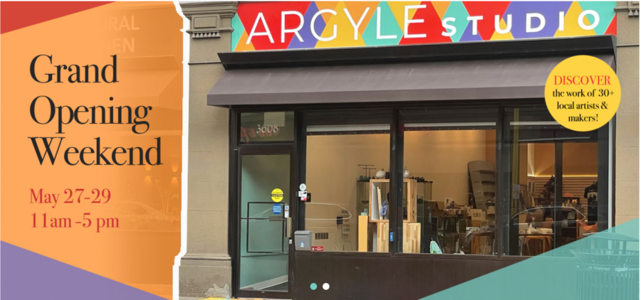 Argyle Studio held its grand opening last Thursday, offering Oakland a unique space for artistic retail. The pop-up shop represents the diversity of the Oakland community through a variety of products, including the creative work of over 30 local artists and vendors.
