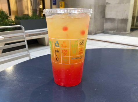 Students in Oakland can visit a few different shops close to Pitt's campus to try bubble tea for themselves, such as Fuku Tea.