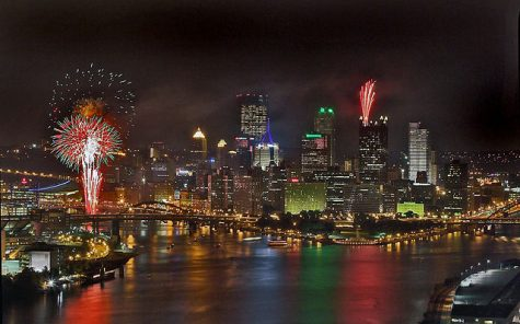 There are fireworks to enjoy right at the heart of Pittsburgh, just a quick car drive away in the neighboring suburbs or further away in about an hour's commute.