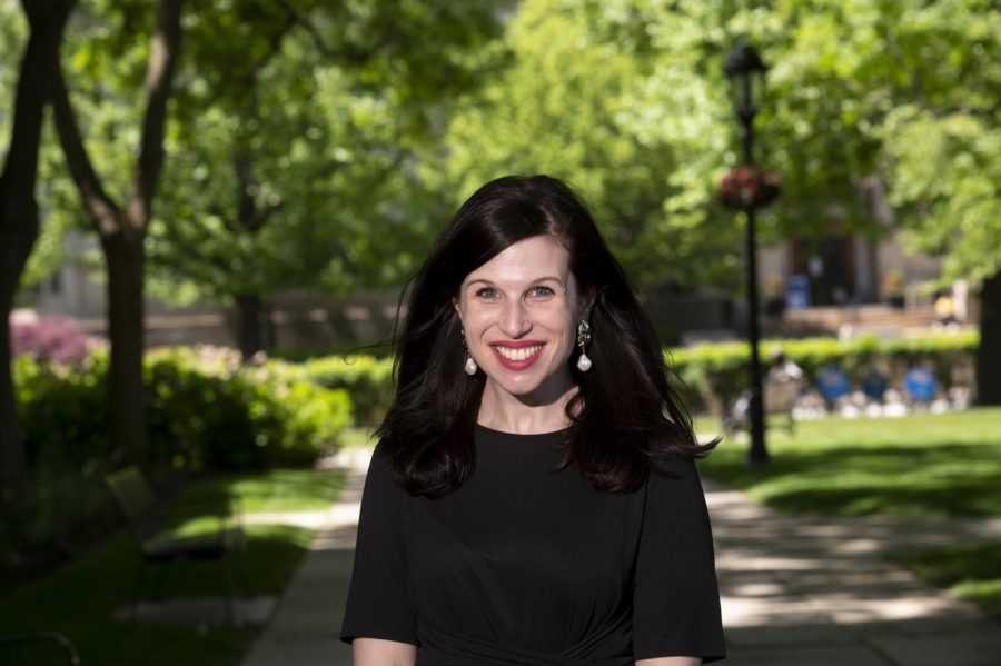 """Eleanor Matten, the director of the Sara Fine Institute, leads the committee for the Year of Data and Society — the upcoming 2021-22 installment in the annual """"Year Of"""" series hosted by the Office of the Provost."""