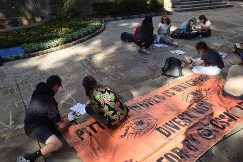 """Photos: """"Tell Us The Truth, Pitt"""" Rally"""