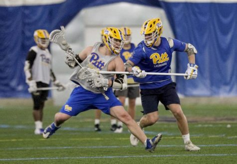 Club and intramural sports, such as men's club lacrosse, are a popular way for students to stay active and continue to play the sports they love.