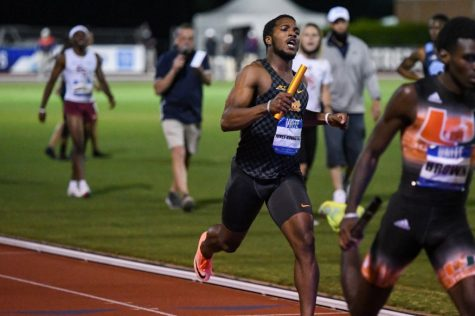 The Panthers will send their first relay team to nationals in seven years, as the foursome posted their season-best and fifth-fastest in program history with a time of 3:06.92 in the 4x400m event.