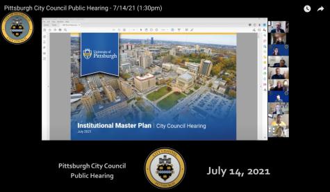 Pitt officials presented the University