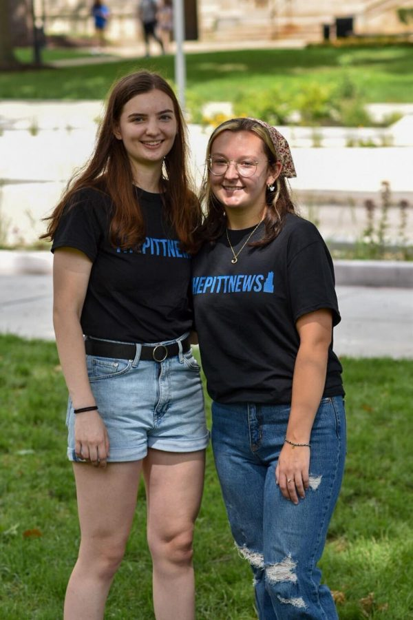 Jane Patz (left) is the assistant copy chief and Riley Kleemeier (right) is the copy chief for the 2021-22 academic year.