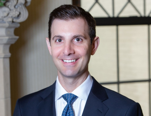 Chris Deluzio, policy director of Pitt's Institute for Cyber Law, Policy and Security and adjunct professor in the School of Law, is running to represent the 17th Congressional District.