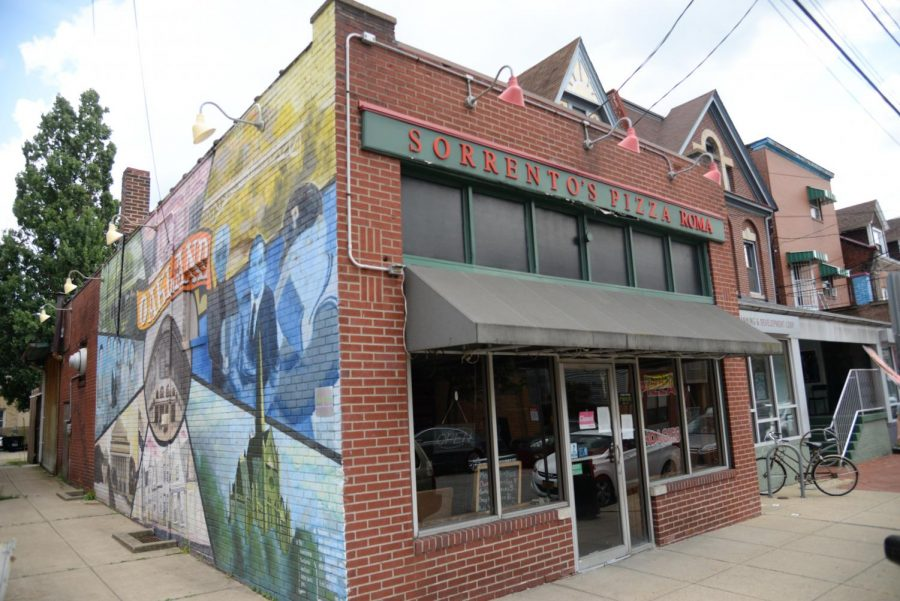 Sorrentos Pizza Roma is currently located at 233 Atwood St.