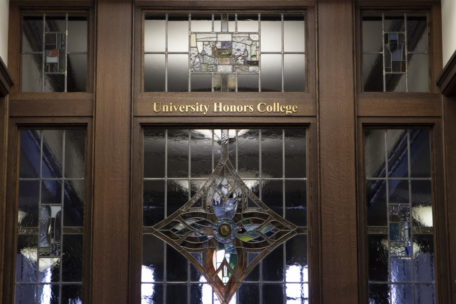 The University Honors College in the Cathedral of Learning.