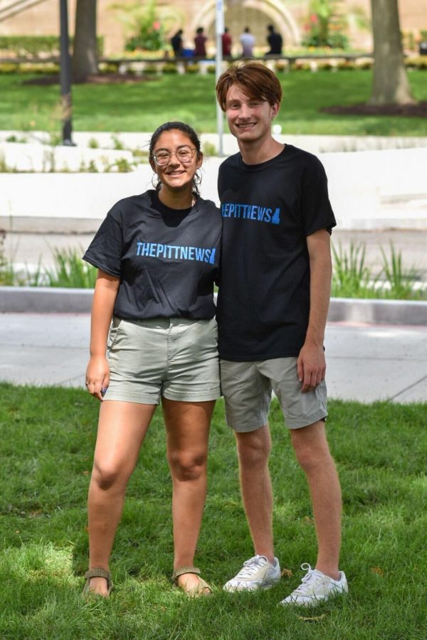 Dalia Maeroff (left) and Jack Troy (right) are the opinions editors for the 2021-22 academic year.