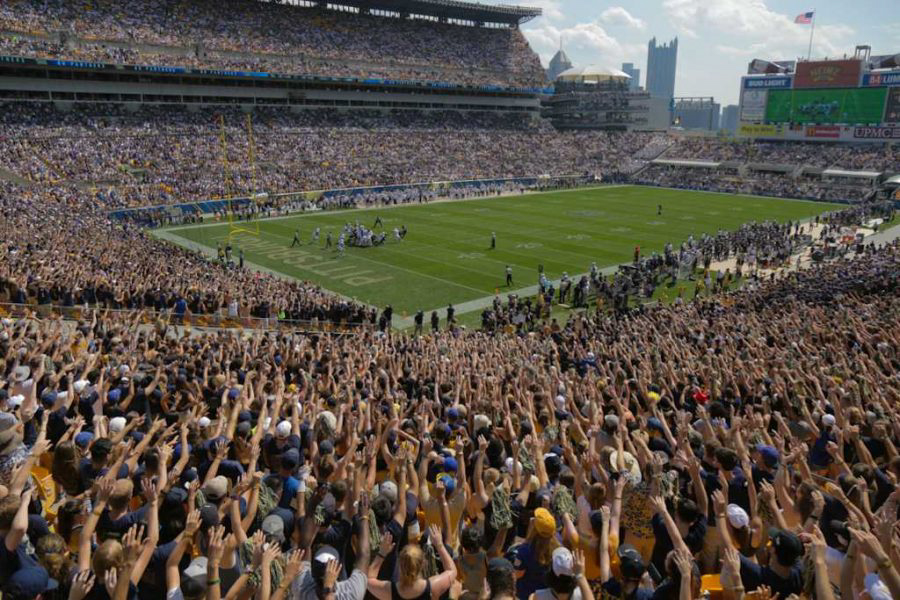 Heinz Field will open fully to spectators for the first time since 2019 at this Saturday's football game against UMass.
