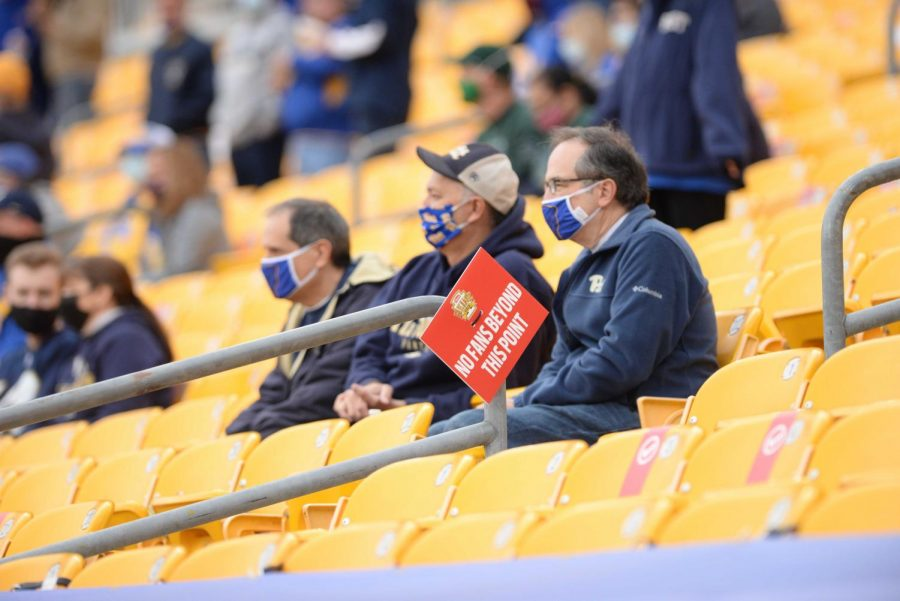 Pitt football hosted fans at Heinz Field for the first time in almost a year during its Oct. 24, 2020 game against Notre Dame.