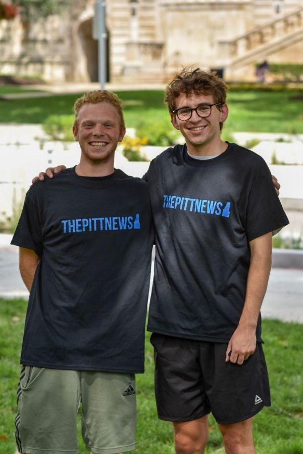 Dalton Coppola (left) and Stephen Thompson (right) are the sports editors for the 2021-22 academic year.