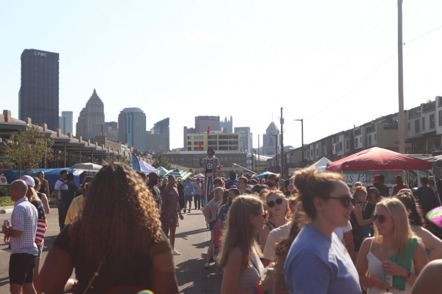The Pittsburgh Taco Festival, held Saturday at the Strip District Terminal, is an annual celebration of all things taco. The festival had over 25 different food trucks and vendors, each selling their own culinary takes on tacos and other Latin American food.