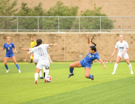 No. 20 Pitt women's soccer lost 1-0 against the No. 6 TCU Horned Frogs on Sunday morning at Ambrose Urbanic Field.