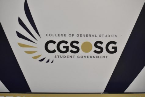 CGSSG, an elected group of 17 individuals, represents all College of General Studies students. CGSSG's goal this year is to re-establish itself and build a strong foundation going forward for future leadership.
