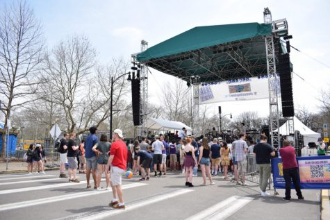 Pitt Program Council announced that Lauv, an American pop artist, will headline this year's Fall Fest. Students can attend Fall Fest on Oct. 10 starting at 1 p.m. on Schenley Drive. Pictured is the 2018 Bigelow Bash, the former name of Fall Fest.