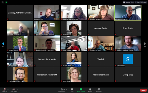 The Senate Budget Policies Committee held its first meeting of the year via Zoom on Friday.