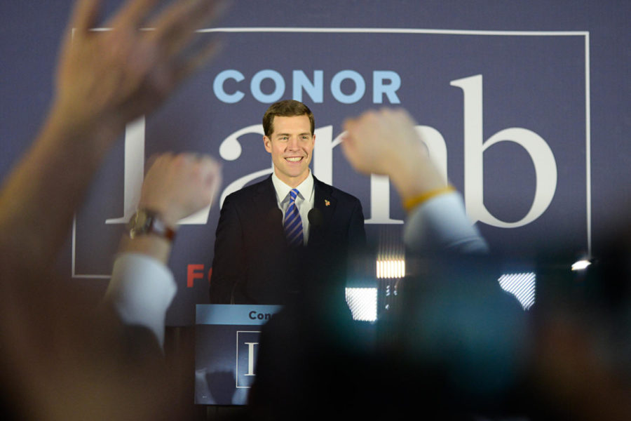 Pennsylvania Rep. Conor Lamb launched a campaign to run for U.S. Senate, seeking to fill Sen. Pat Toomey's seat.