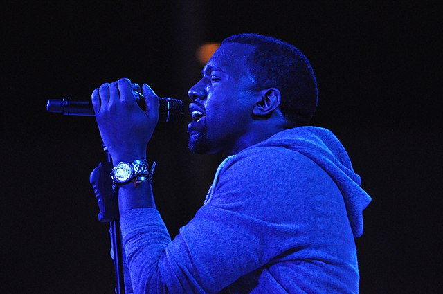Kanye West performs at The Museum of Modern Art