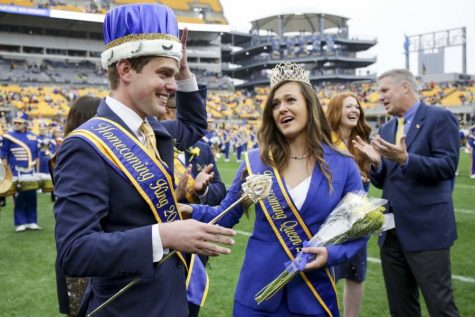 Past winners of Homecoming king and queen.