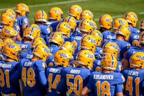 The Pitt football team.