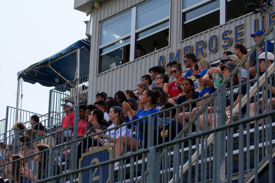 To delight of fans and players, Ambrose Urbanic Field welcomes crowds back