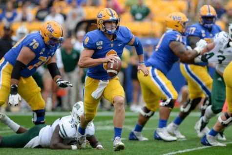 Redshirt senior quarterback Kenny Pickett has posted 939 yards and 10 touchdowns with one interception in his first three games.