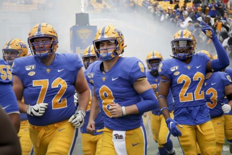 After throwing for 285 yards in last Saturday's 41-34 win over Tennessee, Pitt senior Kenny Pickett is now just 57 passing yards away from leaping Dan Marino for second place in career passing yards at Pitt.