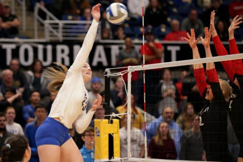 Kayla Lund led a dominant run of Pitt volleyball during her time in Oakland. As she looks toward the end of her time as a Panther, Lund wants to make history and memories on the court.