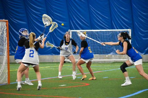 Highmark Stadium will be the home of Pitt women's lacrosse for its inaugural 2022 season. Pictured is the Panthers lacrosse team's first practice on Aug. 30.