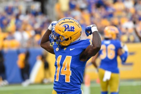 """Standing at just 5-foot-9, Marquis Williams (14) has the odds stacked against him as a defensive back. But he doesn't let that impact his attitude, claiming he makes up for his lack of size through his """"lion heart."""""""