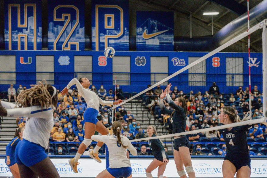 No. 4 Pitt Volleyball hosted the Panther Challenge this weekend in the Fitzgerald Fieldhouse, sweeping High Point, No. 12 BYU and Bowling Green to maintain its perfect record.